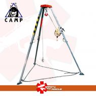 Tripod rescue camp Evo
