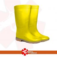 Ando Boots Sepatu Boot bots Tinggi Panjang Kuning Proyek