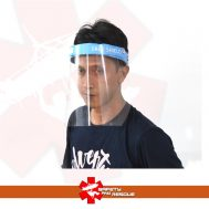 Face Shield Biru